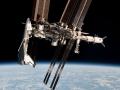 Navette, Station spatiale et ATV sur une m�me image