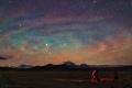 Ondes de gravit� luminescentes sur le Tibet