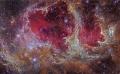 W5, piliers de formation stellaire