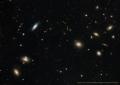 Au coeur de l'amas de galaxies de Coma
