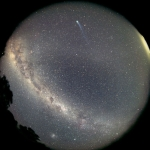 Une vue du ciel austral
