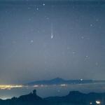 La comète Ikeya-Zhang au-dessus de Ténériffe