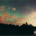 Une aurore au-dessus des nuages