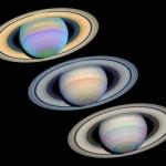 Saturne par trois