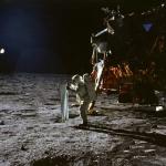 Photo prise de nuit depuis la lune?