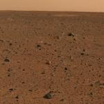 Mars la rouge par Spirit
