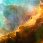 M17: un gros plan d'Hubble