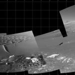 Mosaïque du cratère Endurance sur Mars