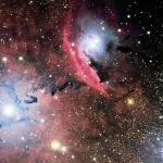 Etoiles, poussière et nébuleuse dans NGC6559