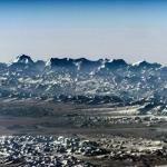 L'horizon himalayen depuis l'espace