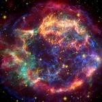 L'écho lumineux de Cassiopeia A en infrarouge