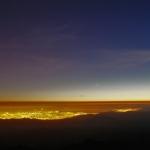 Trois planètes depuis le Mont Hamilton