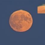 Pleine Lune, liseré vert