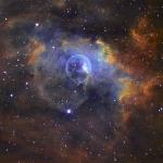 NGC 7635: la Nébuleuse de la Bulle