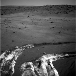 Inhabituel sol clair sur Mars