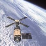 Skylab au-dessus de la Terre