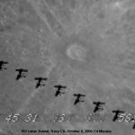 En traversant la pleine Lune