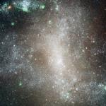 Les amas d'étoiles de NGC 1313