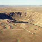 Le cratère de la météorite Barringer en 3D