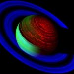Saturne au néon