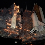 Atlantis sur le pas de tir 39A