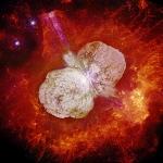 Eta Carinae et la nébuleuse de l'Homoncule