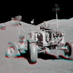 Le carré VIP d'Apollo 17 en relief