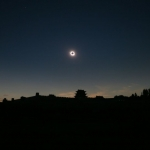 Eclipse au-dessus de la Grande Muraille