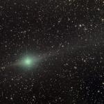 La comète Lulin approche de la Terre