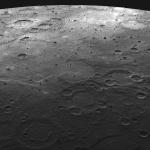 Terrain volcanique sur Mercure