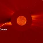 La comète du nouvel an