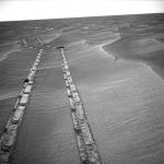 En contemplant le chemin parcouru sur Mars