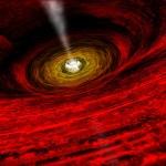 Que voit-on à proximité d'un trou noir ?