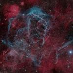 Le rémanant de supernova des Voiles