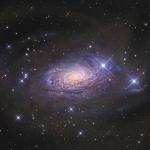 Un courant d'étoiles à proximité de la galaxie du Tournesol