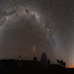 Lumière zodiacale sur la Namibie