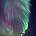 Aurore polaire sur la Norvège