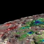 Glace d'eau détectée sous la surface lunaire