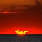 Etrange lever de Soleil sur l'Argentine