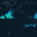 La trajectoire des ouragans