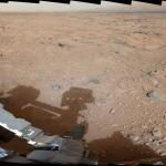 L'ombre d'un martien métallique