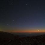 Deux comètes à l'horizon