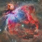 Dans la nébuleuse d'Orion