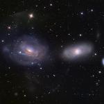 NGC 3169 part en vrille