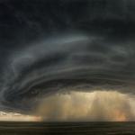 Un orage supercellulaire au-dessus du Montana