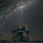 Frappe laser interstellaire