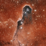 Insolite globule dans IC 1396
