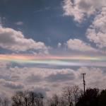 Un nuage iridescent sur l'Ohio