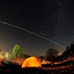 Camélopardalides et Station spatiale