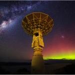 Station de suivi et ciel austral